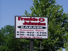 Auto Repair Shop Sign Naperville
